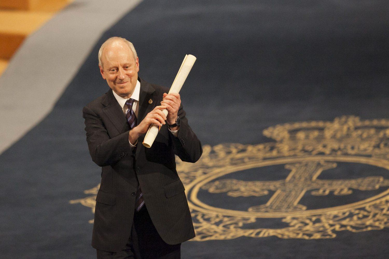 Michael J. Sandel, en la ceremonia de los Premios Princesa de Asturias.