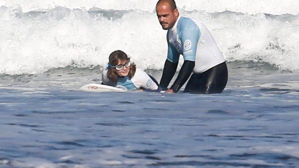 Antes surfista que ciega