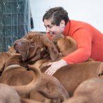 """Habla la asturiana que trajo a España el Dogo de Burdeos (y le vendió uno a Messi): """"Son perros muy nobles"""""""
