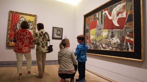 La exposición de los maestros y Luis Fernández, el regalo del Bellas Artes