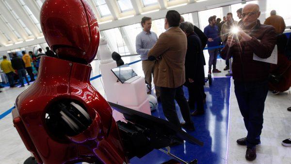 Los robots del futuro, en persona