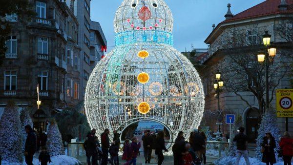 La Navidad de la ilusión pasa de puntillas por Oviedo
